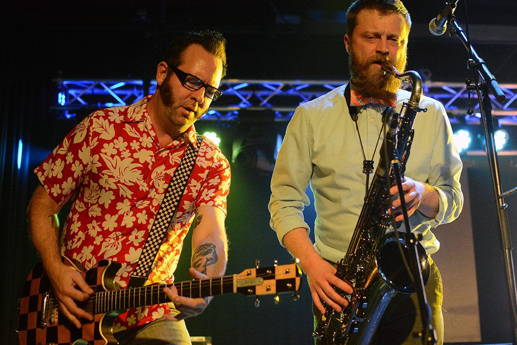 Cargo packed with punks reel big fish tahoe onstage for Reel big fish