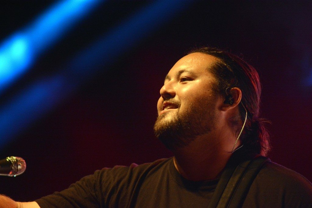 Micah Pueschel plays guitar and is the lead singer for Iration. Tim Parsons / Tahoe Onstage