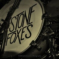 The Stone Foxes drums