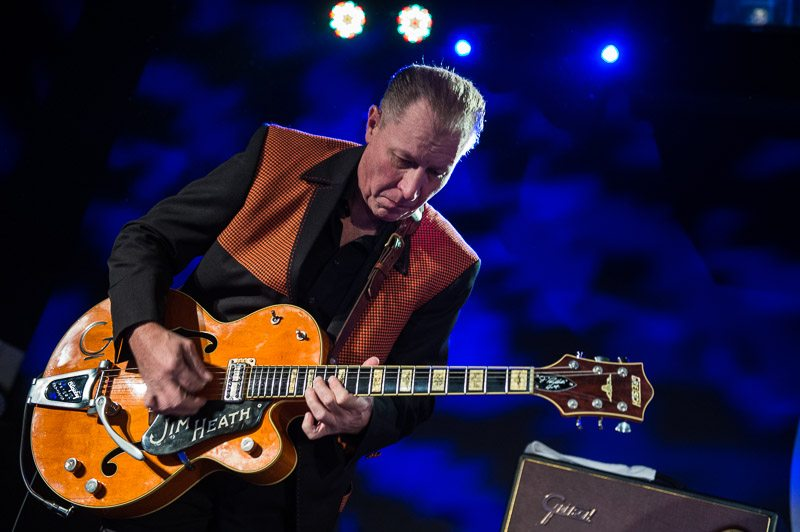 Jim Heath is the Reverend Horton Heat, and so is his band.