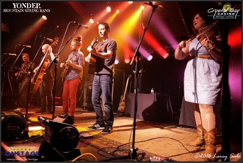 Yonder Mountain String Band took the crowd at Crystal Bay's Crown Room on a far-reaching sonic journey on Friday, March 25.