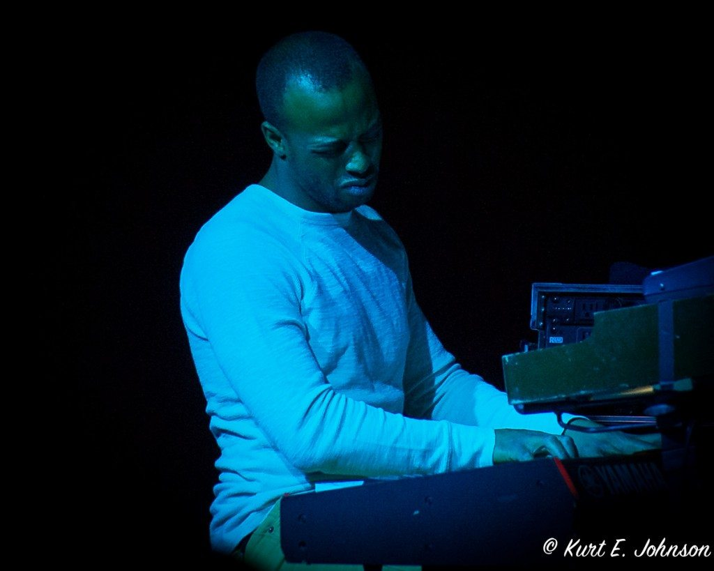 "Alric ""A.C."" Carter plays keyboard and organ for TAUK."