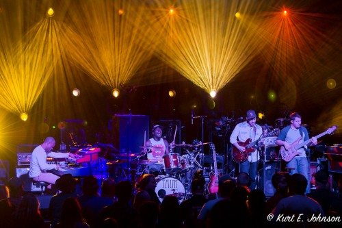 TAUK opened for Umphrey's McGee at the South Shore Room in Harrah's Lake Tahoe on Thursday, March 24.