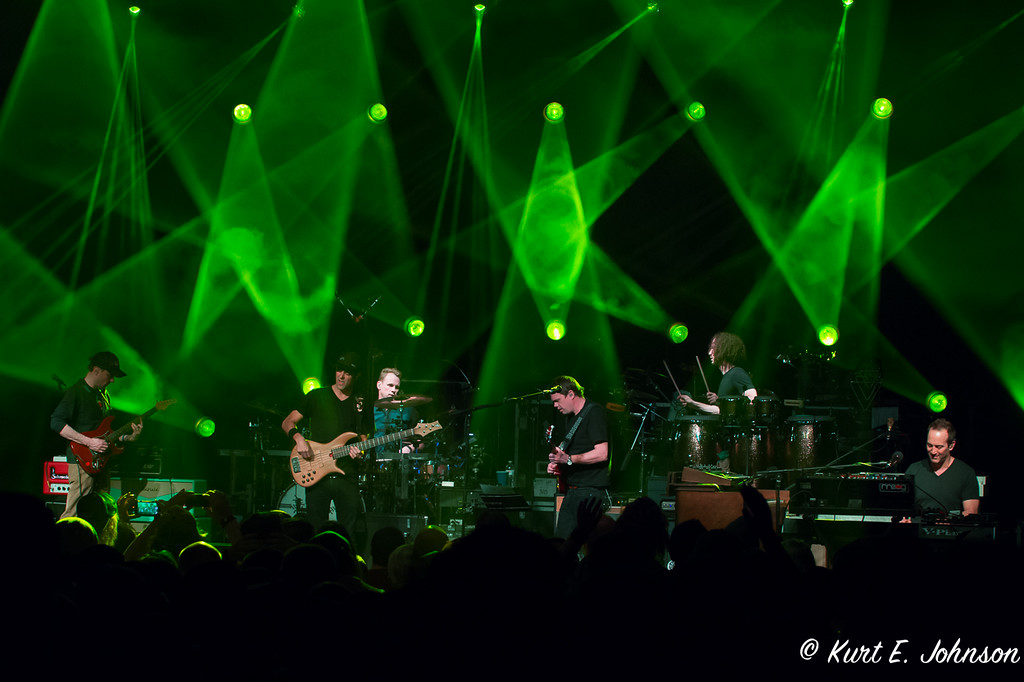 Umphrey's McGee plays to a packed house at Harrah's Lake Tahoe March 24.