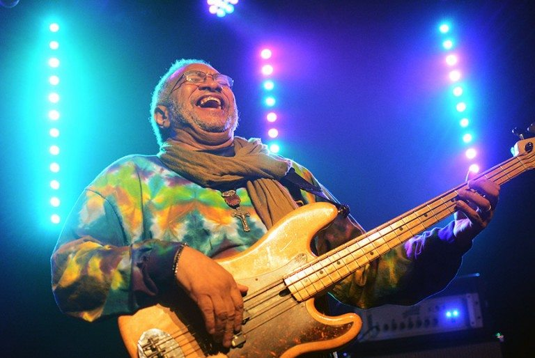 George Porter Jr. is the legendary bass player with the Meters. Tim Parsons / Tahoe Onstage