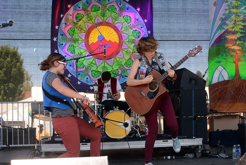 The Accidentals debut was a highlight of High Sierra's opening day. Tim Parsons / Tahoe Onstage