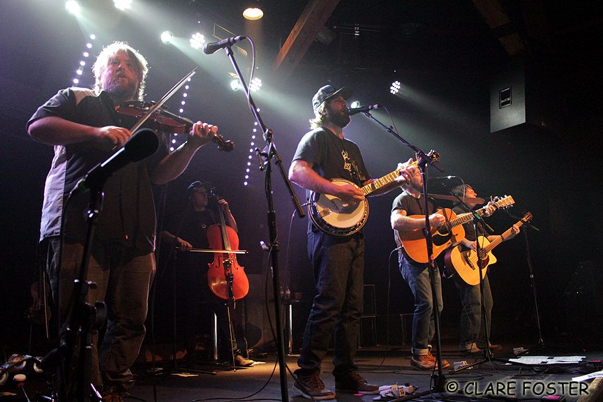 Trampled By Turtles were the first band to sell out the newly expanded Crown Room. Tahoe Onstage photos by Clare Foster.