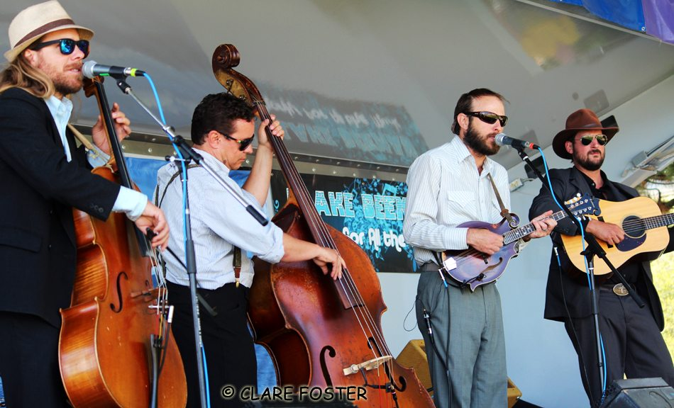 The Sweetwater String Band players live in California, Colorado and Montana.