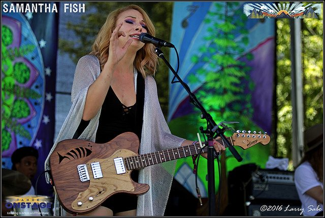 Samantha fish tahoe onstage lake tahoe music concerts for Samantha fish chills and fever