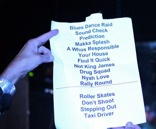 Steel Pulse set list