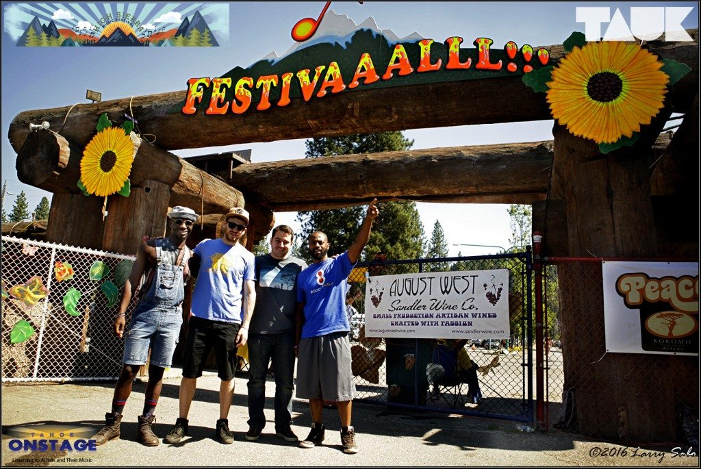 TAUK makes its first appearance at the High Sierra Music Festival.