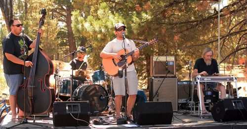 Acoustic Thrash plays Saturday at the 4th annual Meyers Mountain Bike Festival. Tim Parsons / Tahoe Onstage