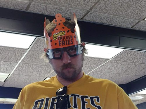 Royal with Cheetos Chicken Fries: Mike Hickel.