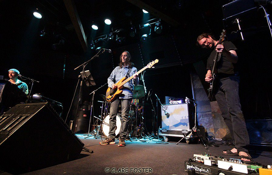 From left, Todd Stoops, Klyph Black and John Kadleck rock the Crown Room. Tahoe Onstage photos by Clare Foster