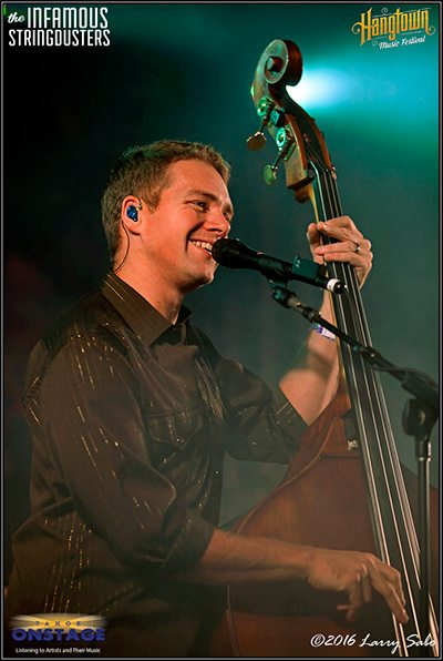 Travis Book, a stand-up guy with the Infamous Stringdusters.