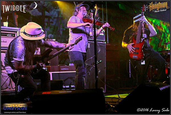 Twiddle rocks the Hangtown Music Festival.