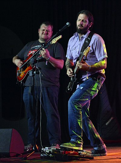 Jelly Bread has never been sweeter than with dual guitarists Sean Lehe, left, and Dave Berry. Tim Parsons / Tahoe Onstage