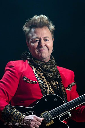 rockabilly rudolph in reno with brian setzer orchestra tahoe onstage lake tahoe music. Black Bedroom Furniture Sets. Home Design Ideas