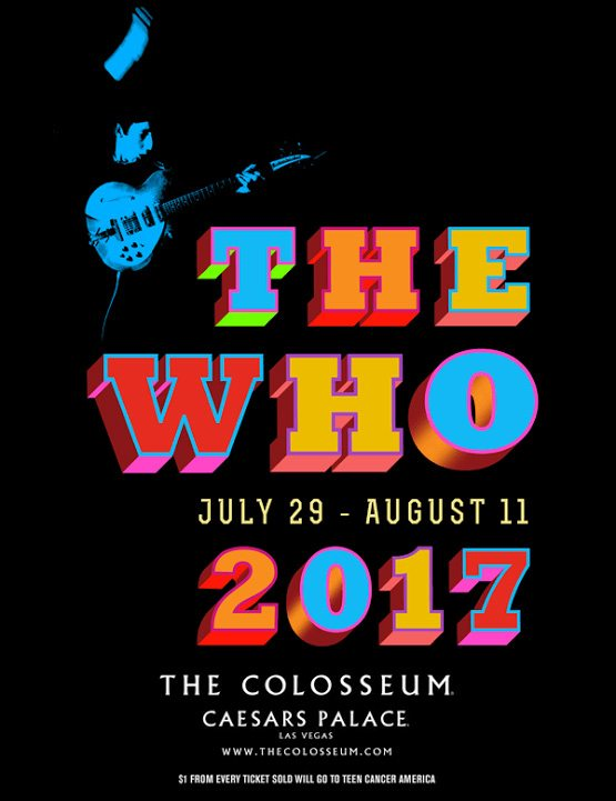 The Who flier Las Vegas