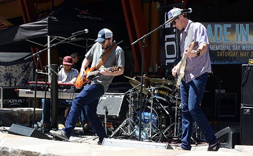 Coburn Station steps it up at Made in Tahoe Festival. Tim Parsons / Tahoe Onstage