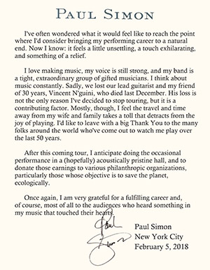 From PaulSimon.com