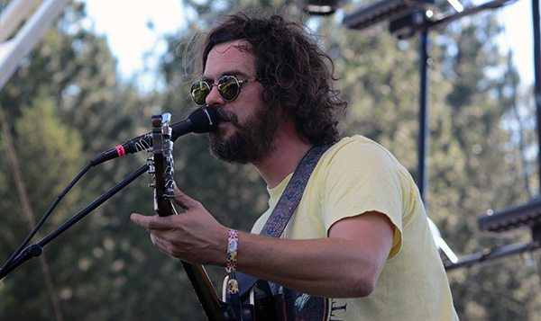 James Petralli of White Denim at the High Sierra Grandstand. Tim Parsons / Tahoe Onstage