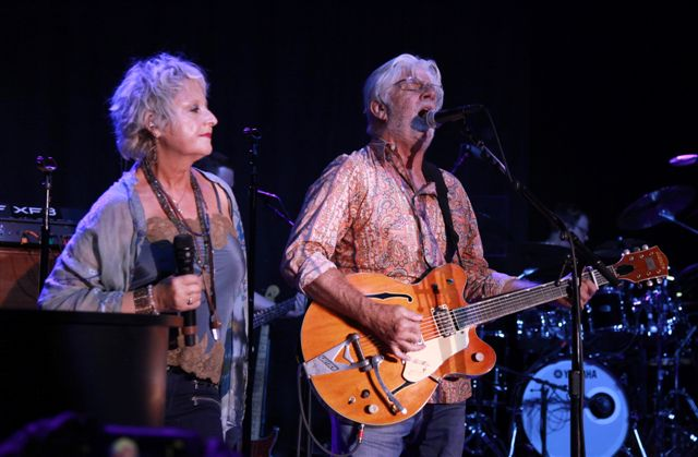 Husband-wife duo Michael McDonald and Amy Holland. Conrad Buedel ? Tahoe Onstage
