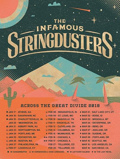Infamous Stringdusters 2018 tour