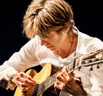 Eric Johnson, musician, photographed by Max Crace.