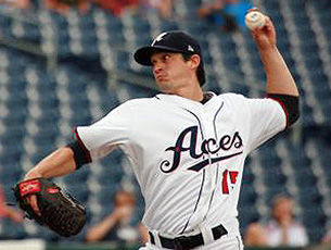 Anthony Vasquez was the Aces starter on Sunday. Conrad Buedel