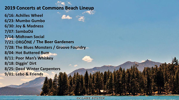 Dave Lockhart back with DWC Sunday at Commons Beach – Tahoe