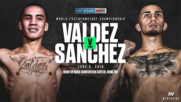 Oscar Valdez and Jason Sanchez will face each other in Reno in a nationally televised title fight.
