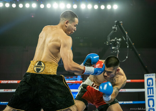 Reno boxing: Mariano wins debut, another draw for Elizondo