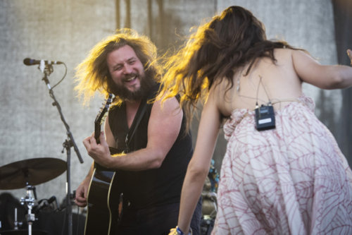 Jim James returns to HSMF without his band My Morning Jacket.