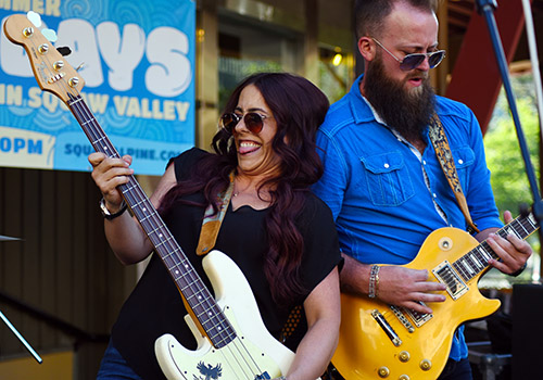 Danielle Nicole and Brandon Miller are back at Tahoe on Friday to perform at the Crystal Bay Casino. Tim Parsons / Tahoe Onstage photos