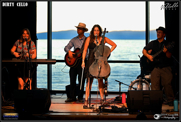 Dirty Cello rocks the Boathouse at Valhalla Tahoe – Tahoe