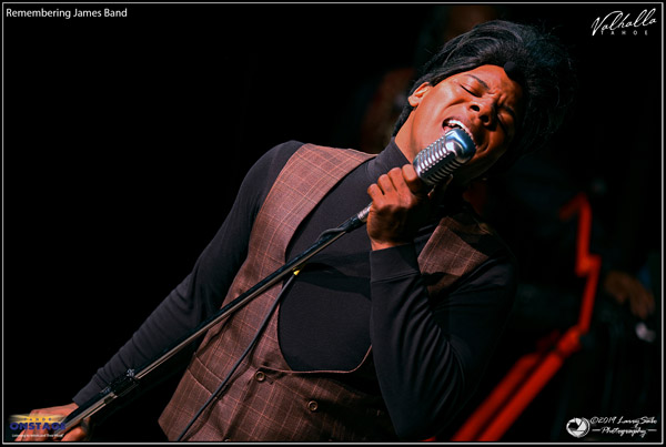 Dedrick Weathersby pays homage to the Godfather of Soul with