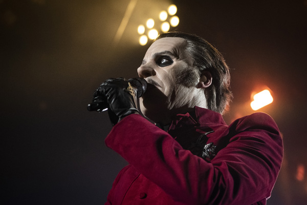 Ghost performs in Reno, Nevada.