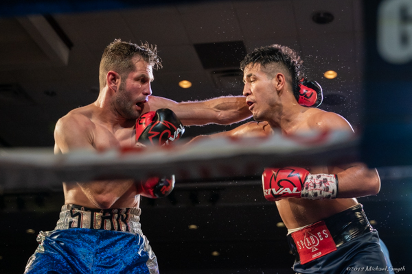 Kendo Castanedo knocked out Stan Martyniouk on Friday to remain undefeated.  Mike Smyth/ Tahoe Onstage photos