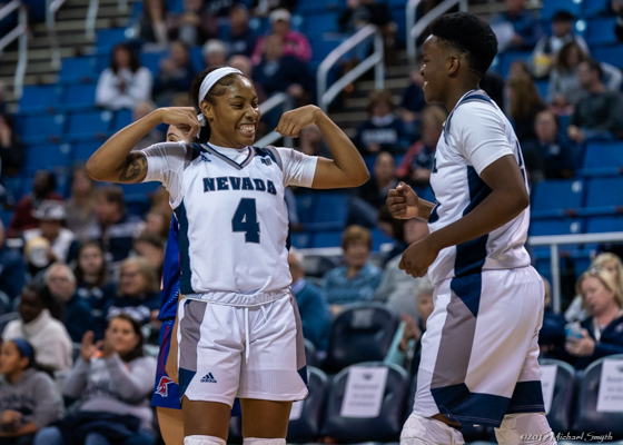 Nevada men's and women's basketball teams were victorious Wednesday night.  Mike Smyth/ Tahoe Onstage