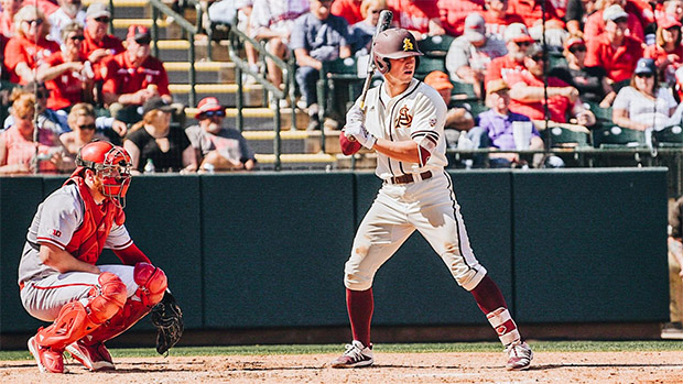 ASU first baseman Spencer Torkelson was the first selection in an exciting 2020 MLB Draft. /Arizona State Athletics