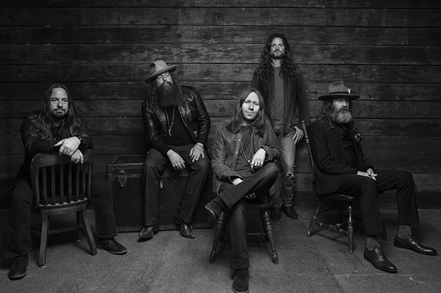 Blackberry Smoke portrait by David Mclister