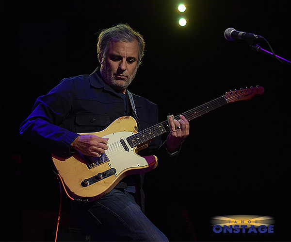 Greg Liacono slides in Tahoe last spring with a Telecaster. Tim Parsons / Tahoe Onstage