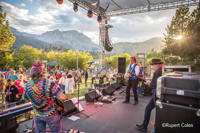 The June Lake Jam Festival is rather intimate as far as festivals go. It's never had more than 1,000 on a single day. Photo By Rupert Coles